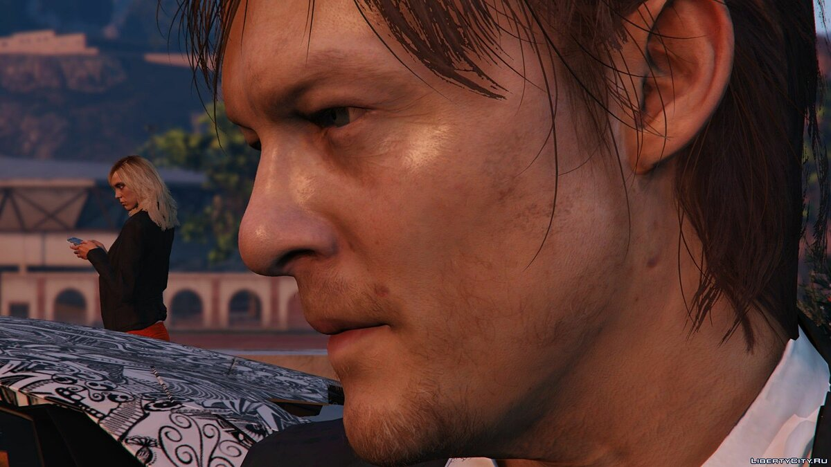 Norman Reedus [Add-On Only] 1.0 для GTA 5 - скриншот #3