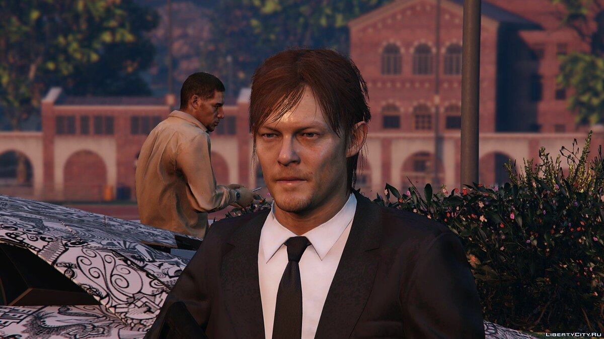 Norman Reedus [Add-On Only] 1.0 для GTA 5 - скриншот #9