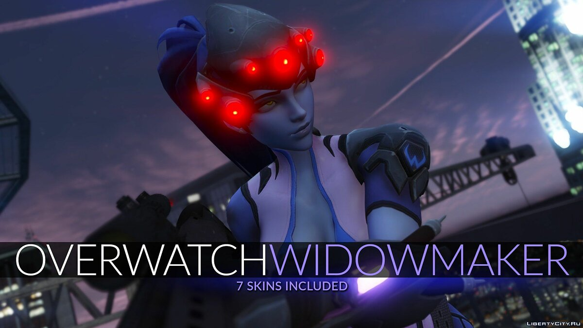 Widowmaker from Overwatch для GTA 5