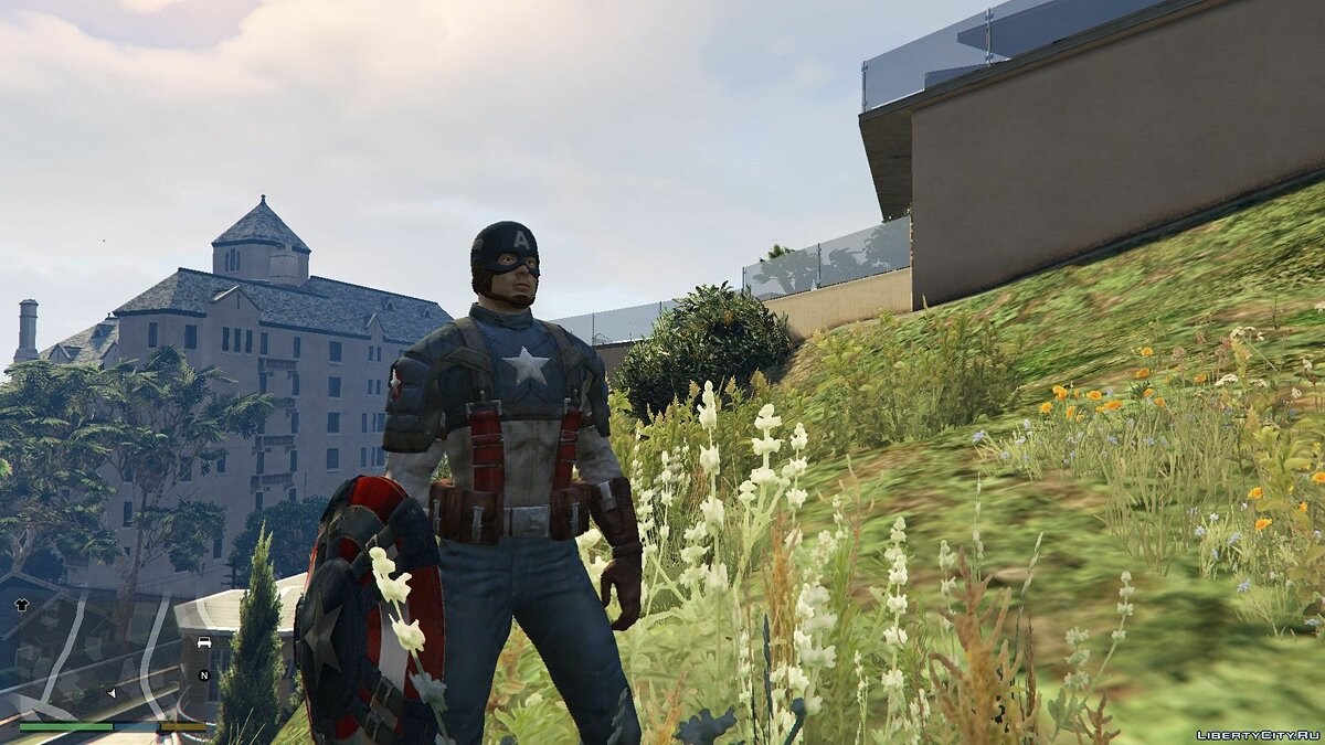 Captain America WWII [Add-On Ped] 1.1 для GTA 5 - скриншот #4