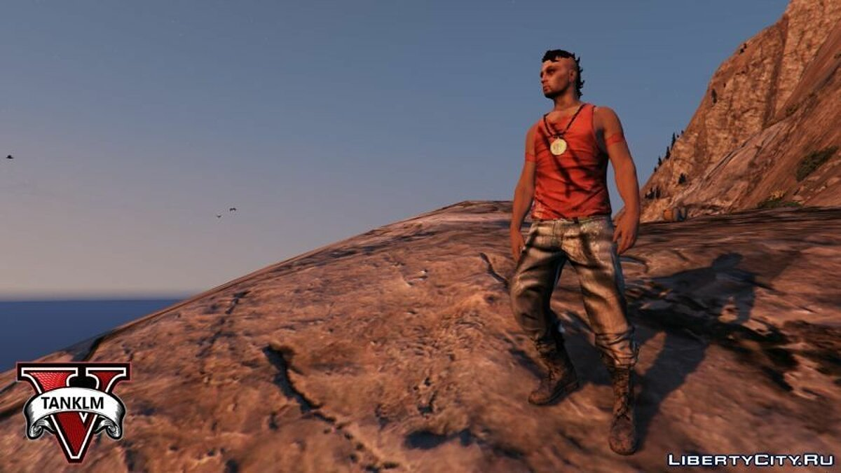 Far Cry 3 Vaas Ped model v4 для GTA 5 - скриншот #3