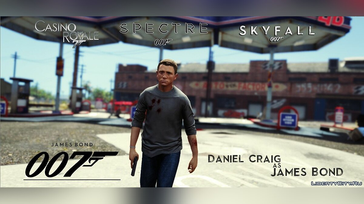 James Bond 007 (Daniel Craig) [Add-On Ped] 1.0 для GTA 5