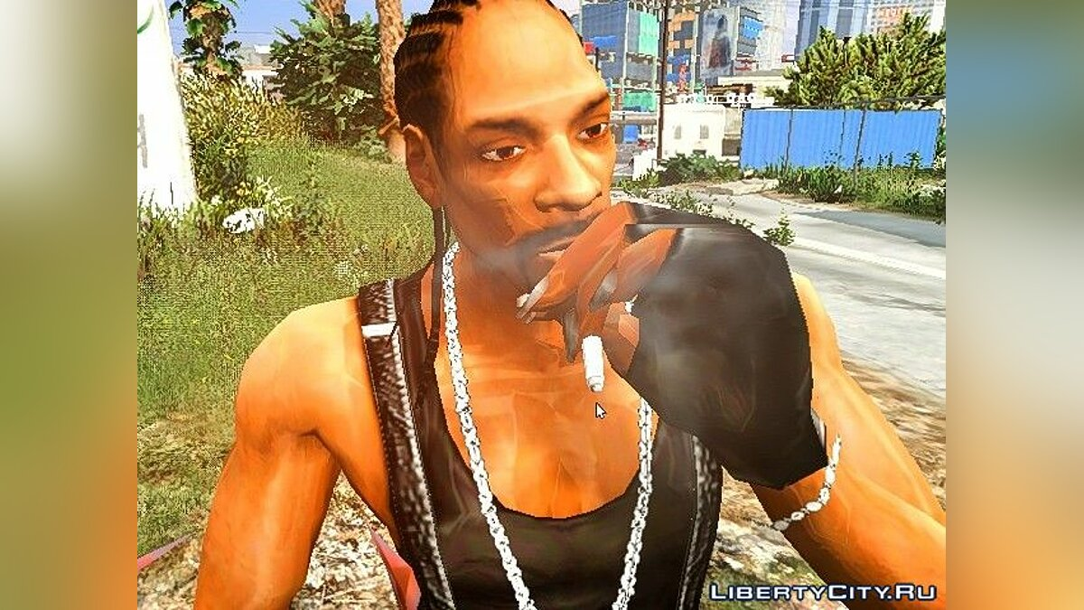 Snoop Dogg (Replace) для GTA 5