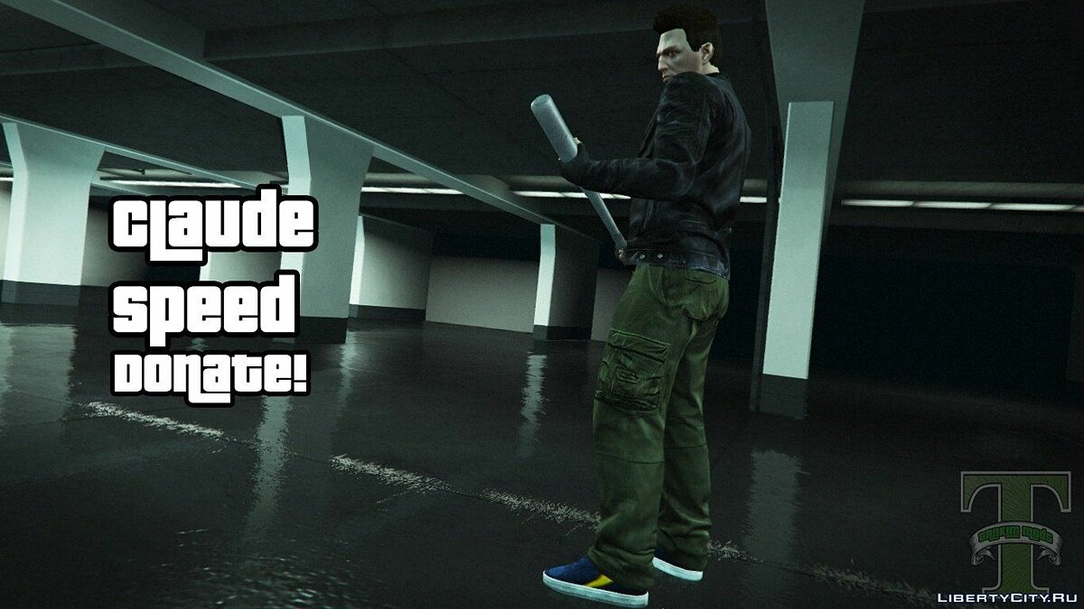 Claude Speed Ped model +new colthes v5 для GTA 5 - скриншот #2
