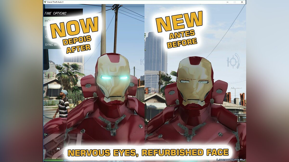 Iron Man Mark III Reflex 2.0 для GTA 5