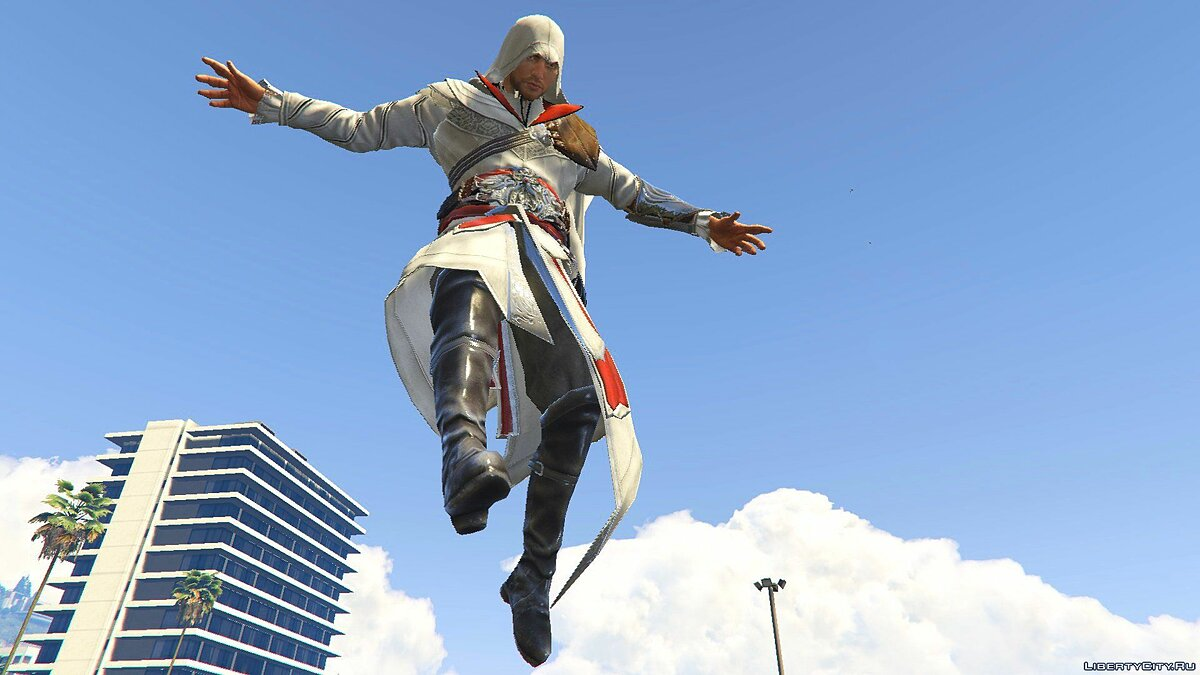 ACU Ezio Outfit [Add-On Ped] 1.0 для GTA 5