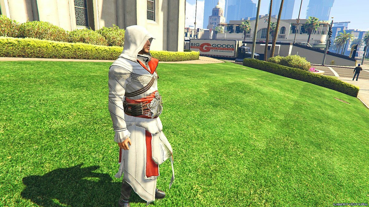 ACU Ezio Outfit [Add-On Ped] 1.0 для GTA 5 - скриншот #3