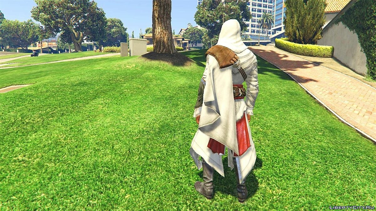 ACU Ezio Outfit [Add-On Ped] 1.0 для GTA 5 - скриншот #4