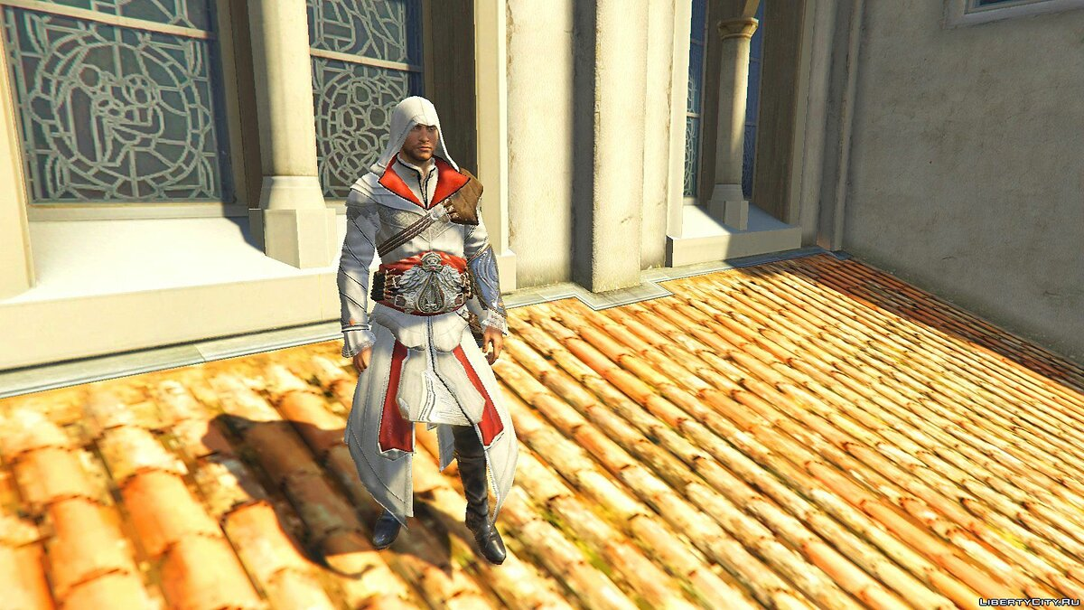 ACU Ezio Outfit [Add-On Ped] 1.0 для GTA 5 - скриншот #2