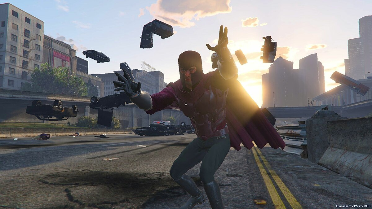 Magneto Days of Future Past [Add-On Ped] 1.0 для GTA 5 - скриншот #3