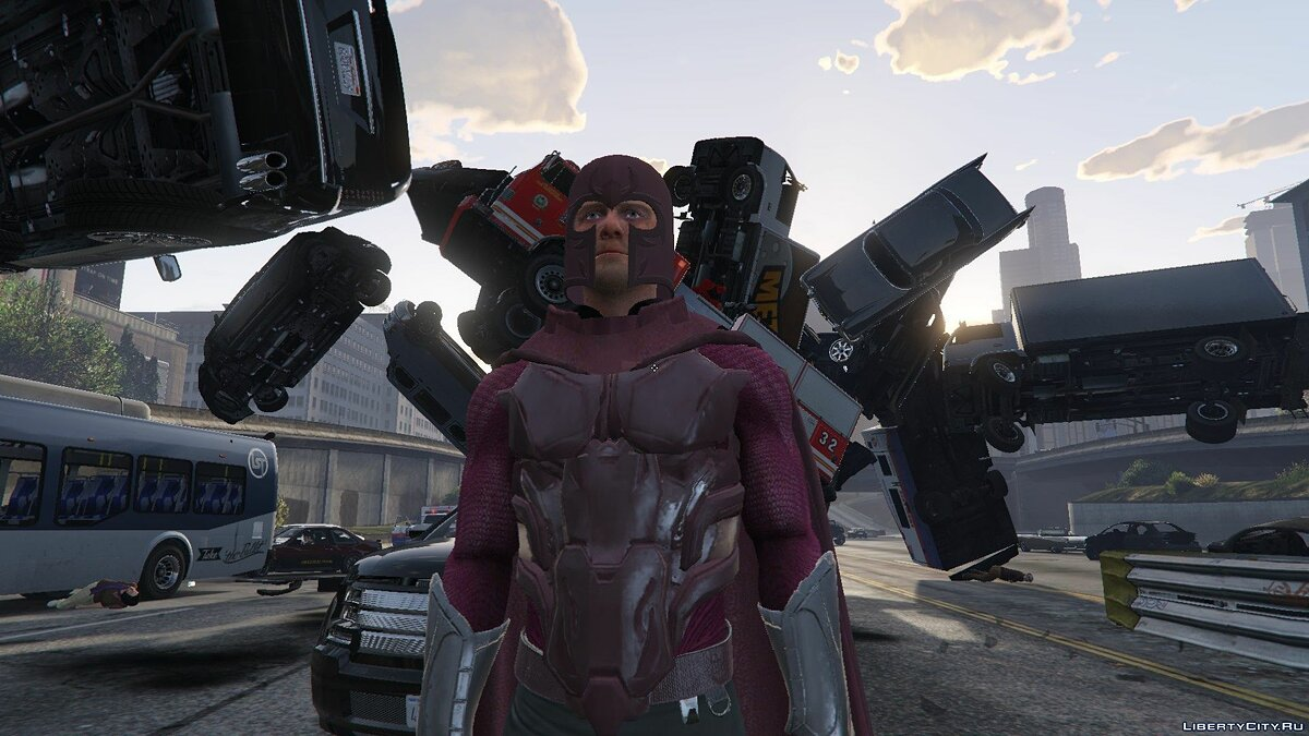 Magneto Days of Future Past [Add-On Ped] 1.0 для GTA 5 - скриншот #5