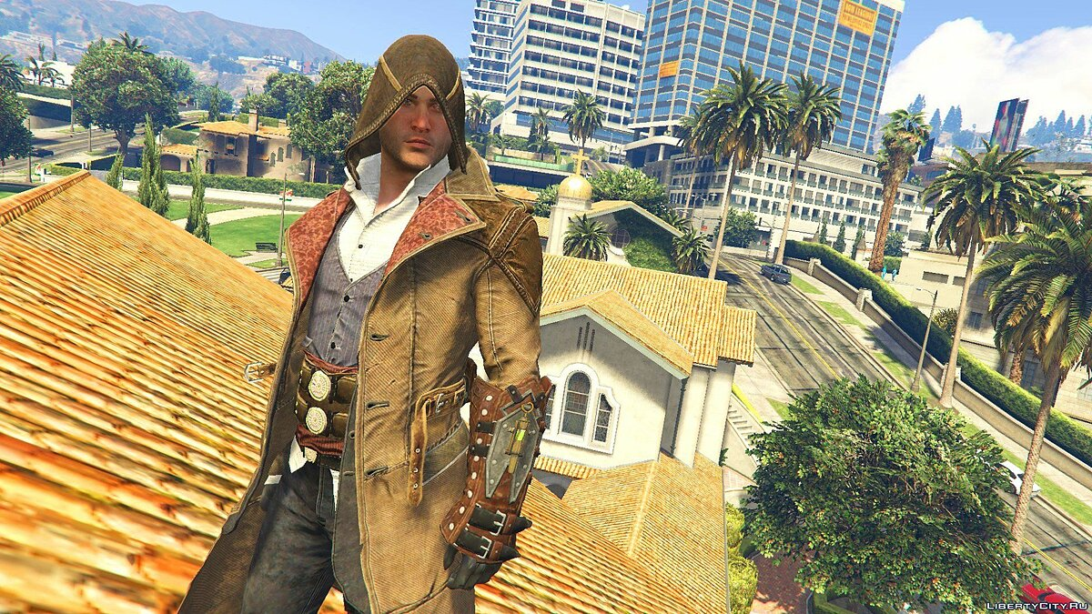 Jacob Gunslinger Outfit [Add-On Ped] 1.0 для GTA 5 - скриншот #2