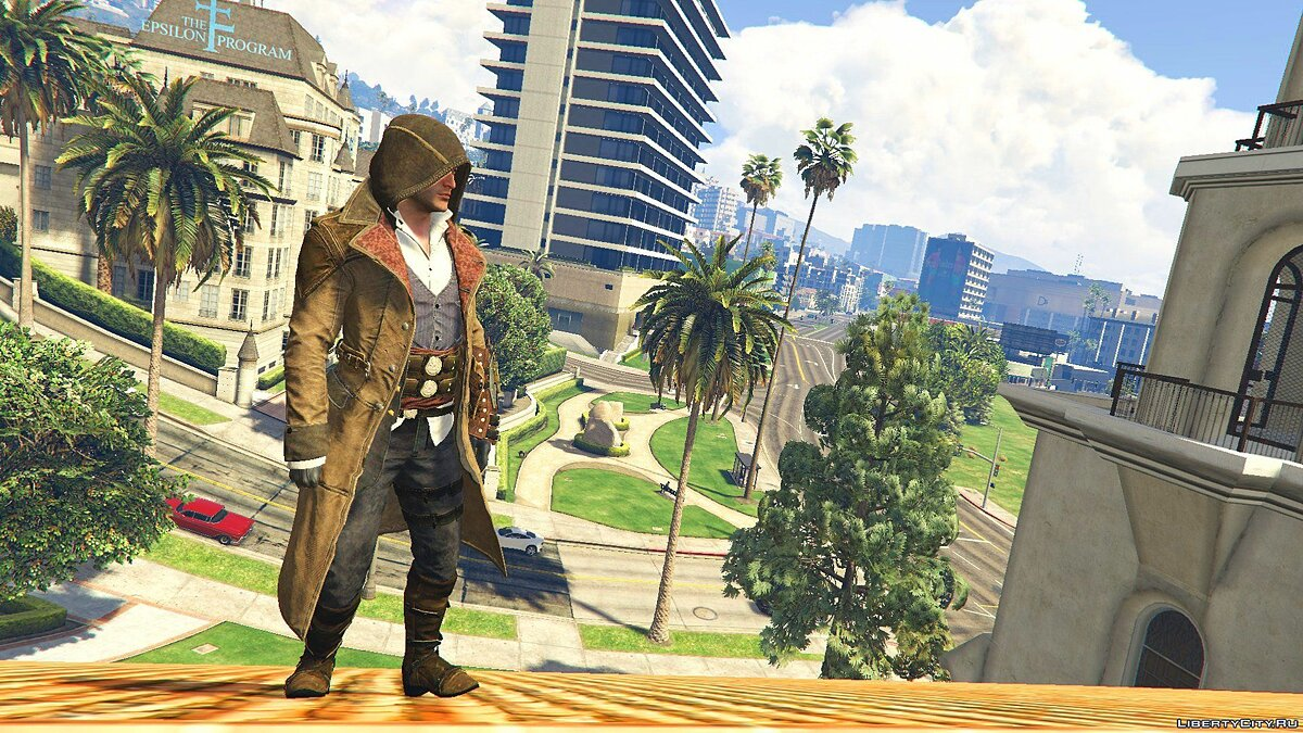 Jacob Gunslinger Outfit [Add-On Ped] 1.0 для GTA 5