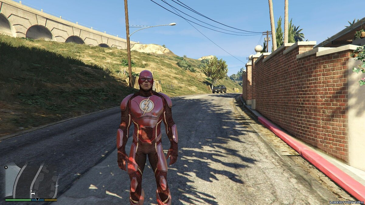Новый персонаж Injustice 2 Mobile Flash [Add-On Ped] 1.0 для GTA 5