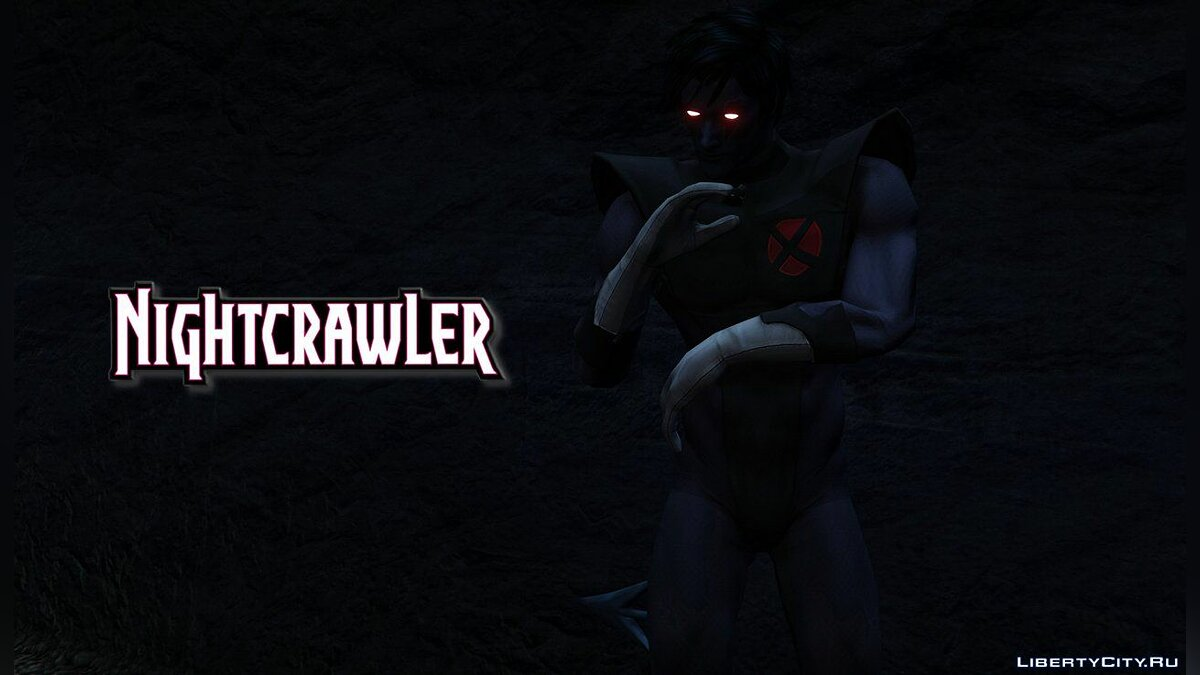 ��овый персонаж Nightcrawler (X-Force) [Add-On Ped] 1.0 для GTA 5