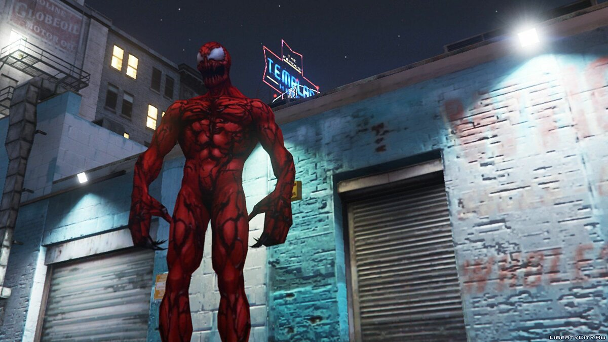 Carnage (Marvel Future Fight) [ADD-ON] 2.0 для GTA 5 - скриншот #2