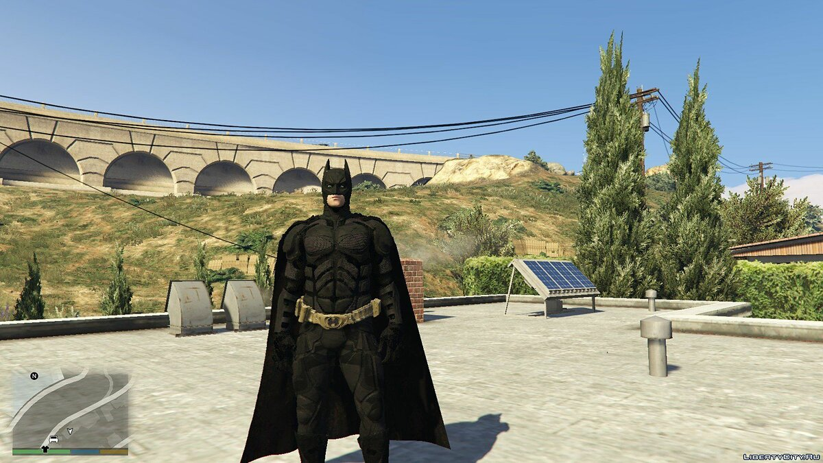 BAK The Dark Knight для GTA 5