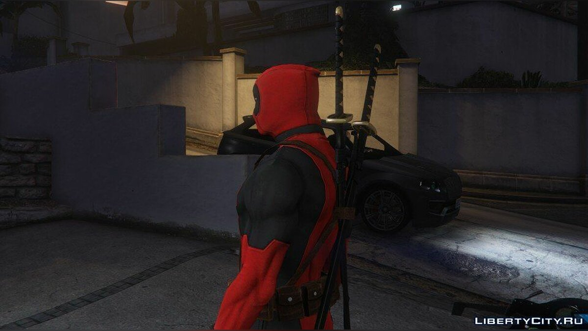 Deadpool [Add-On] 2.0 для GTA 5 - скриншот #2