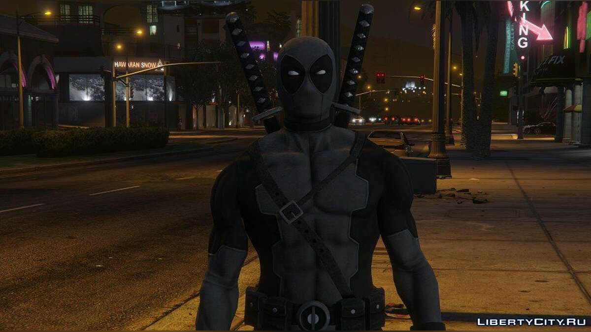 Deadpool [Add-On] 2.0 для GTA 5 - скриншот #5