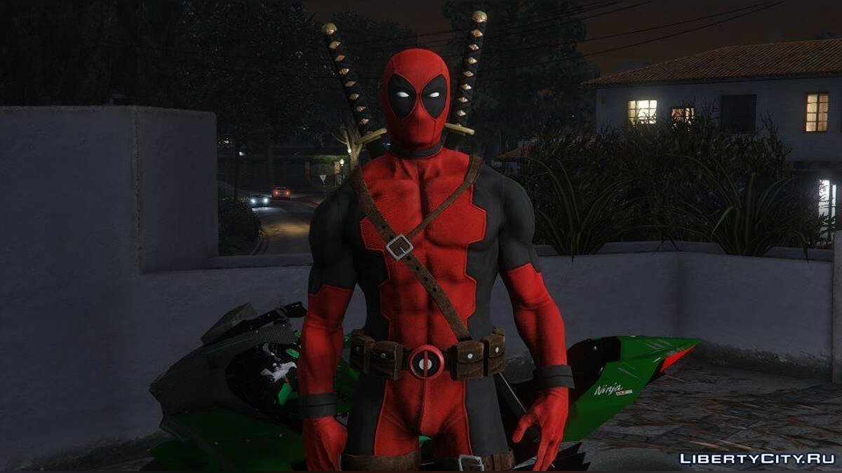 Deadpool [Add-On] 2.0 для GTA 5