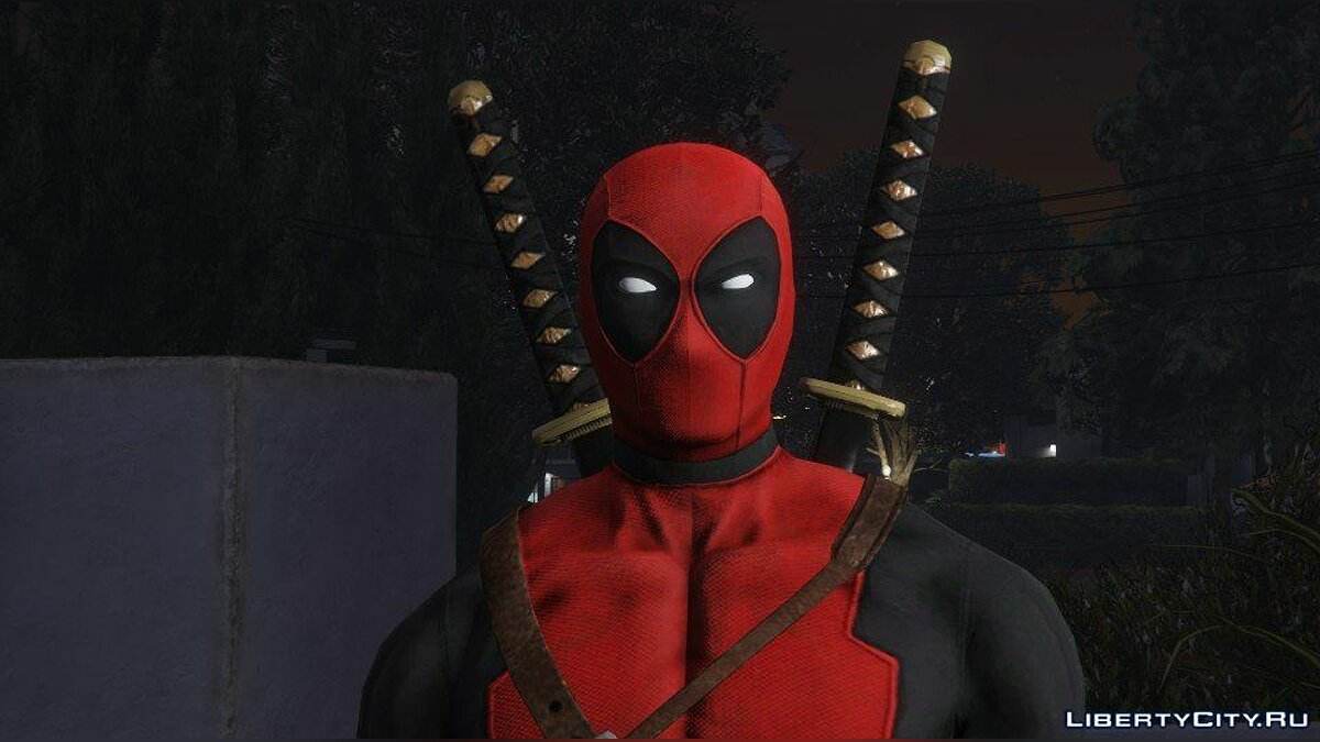 Deadpool [Add-On] 2.0 для GTA 5 - скриншот #4