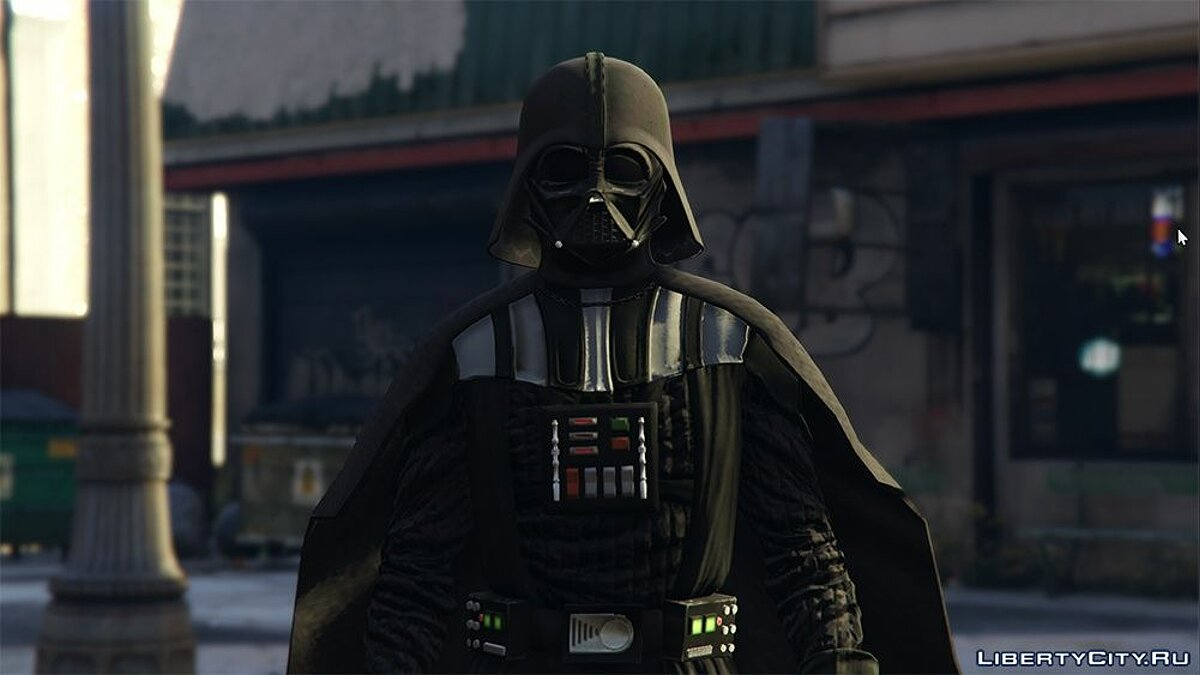 Kylo Ren & Darth Vader [Add-On] для GTA 5 - скриншот #2