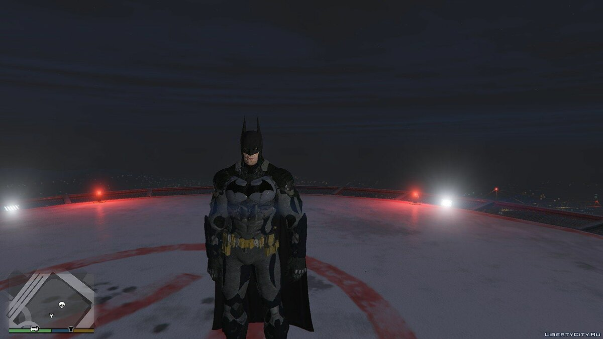 BAK Batman Batsuit v8.04 для GTA 5 - скриншот #5