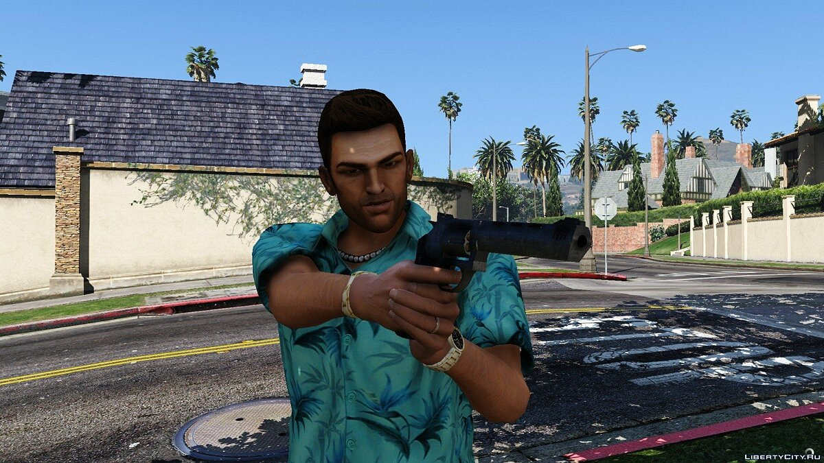 HD Tommy Vercetti 1.0 для GTA 5 - скриншот #4