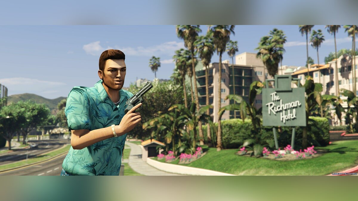 HD Tommy Vercetti 1.0 для GTA 5