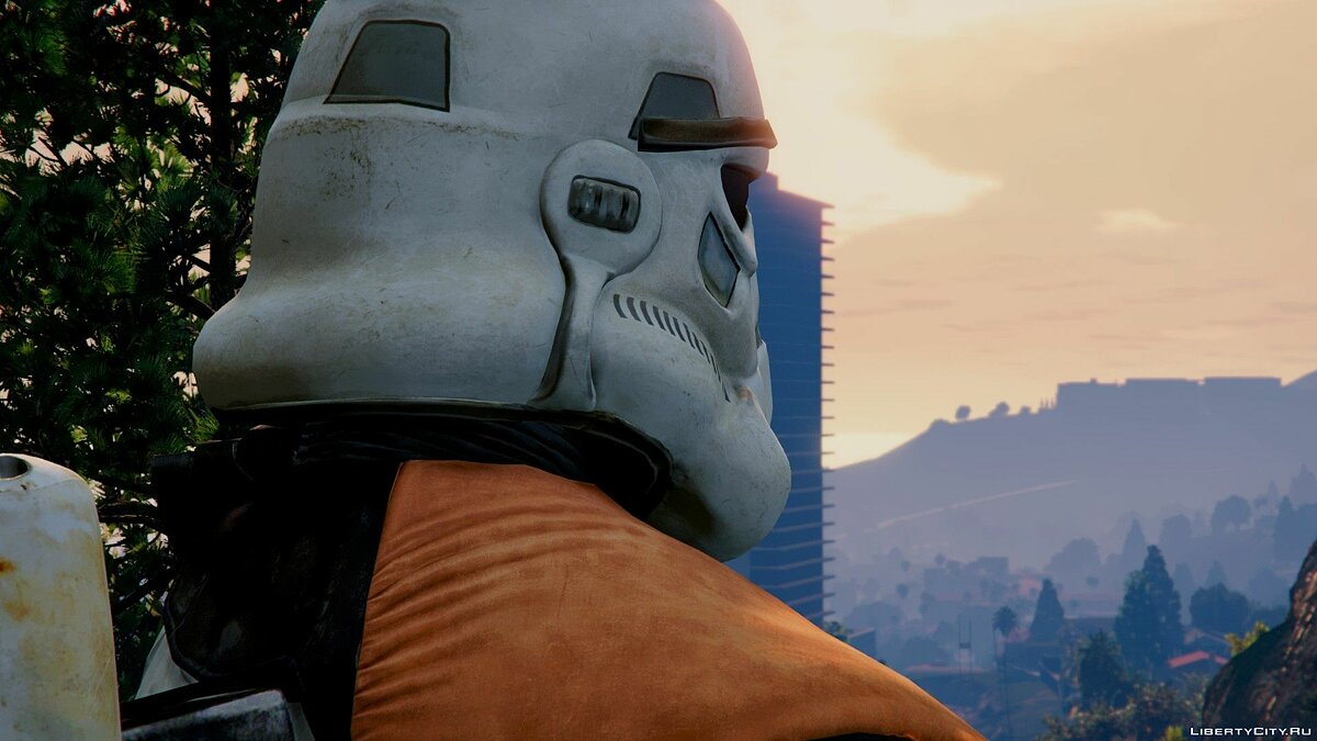 SandTrooper From SW: Battlefront (DICE) [Add-On / Replace] 1.0 для GTA 5 - скриншот #2