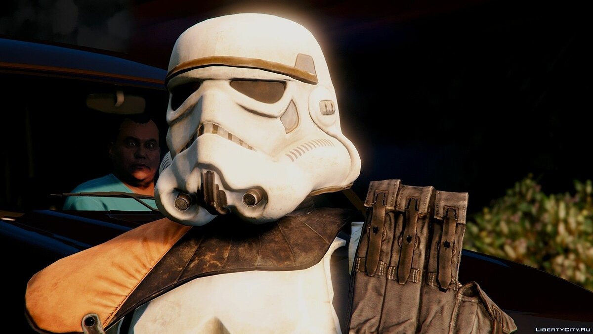 SandTrooper From SW: Battlefront (DICE) [Add-On / Replace] 1.0 для GTA 5