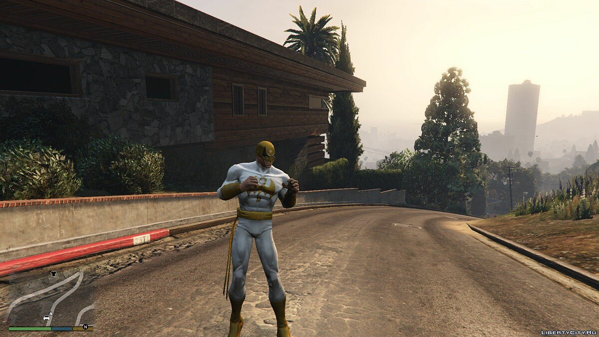 Iron Fist (Immortal) [Add-On Ped] 1.0 для GTA 5