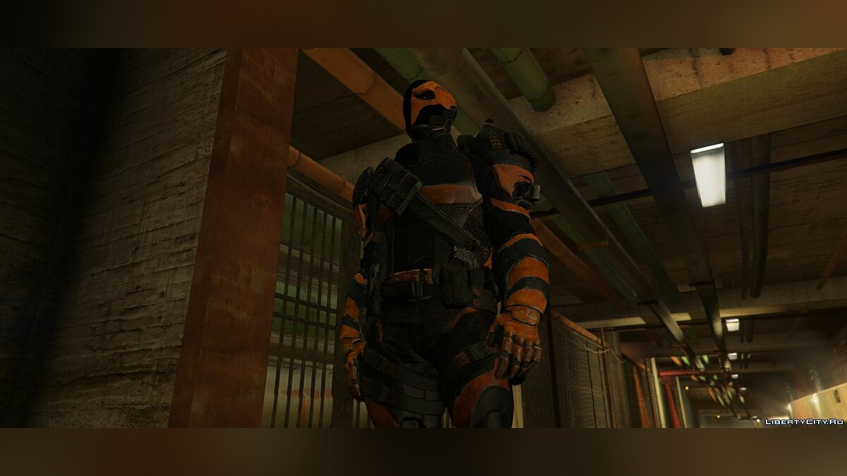 "Deathstroke (Joe Manganiello ""The Batman"" 2019) [Add-On / Replace] для GTA 5 - скриншот #3"