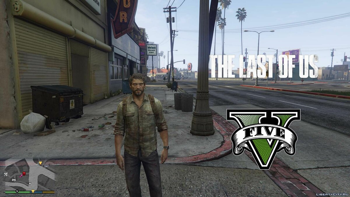 Joel The Last Of Us [Add-On Ped] 1.0 для GTA 5