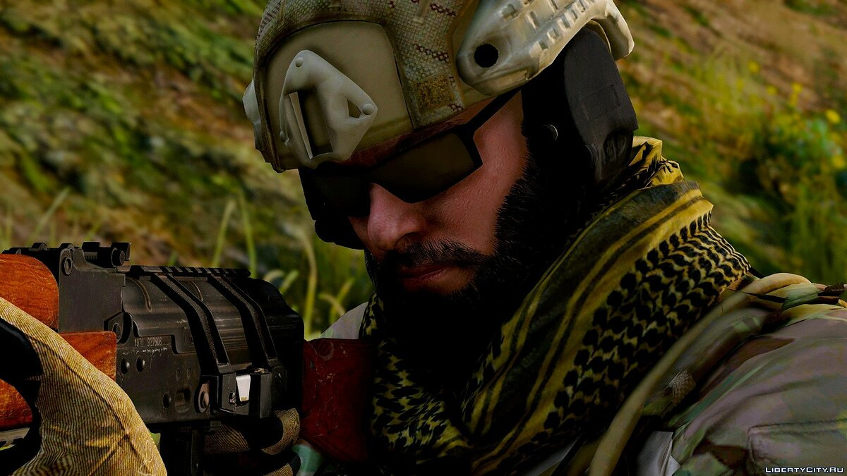 Navy Seals BlackBeard R6 [Add-On Only] 1.0 для GTA 5