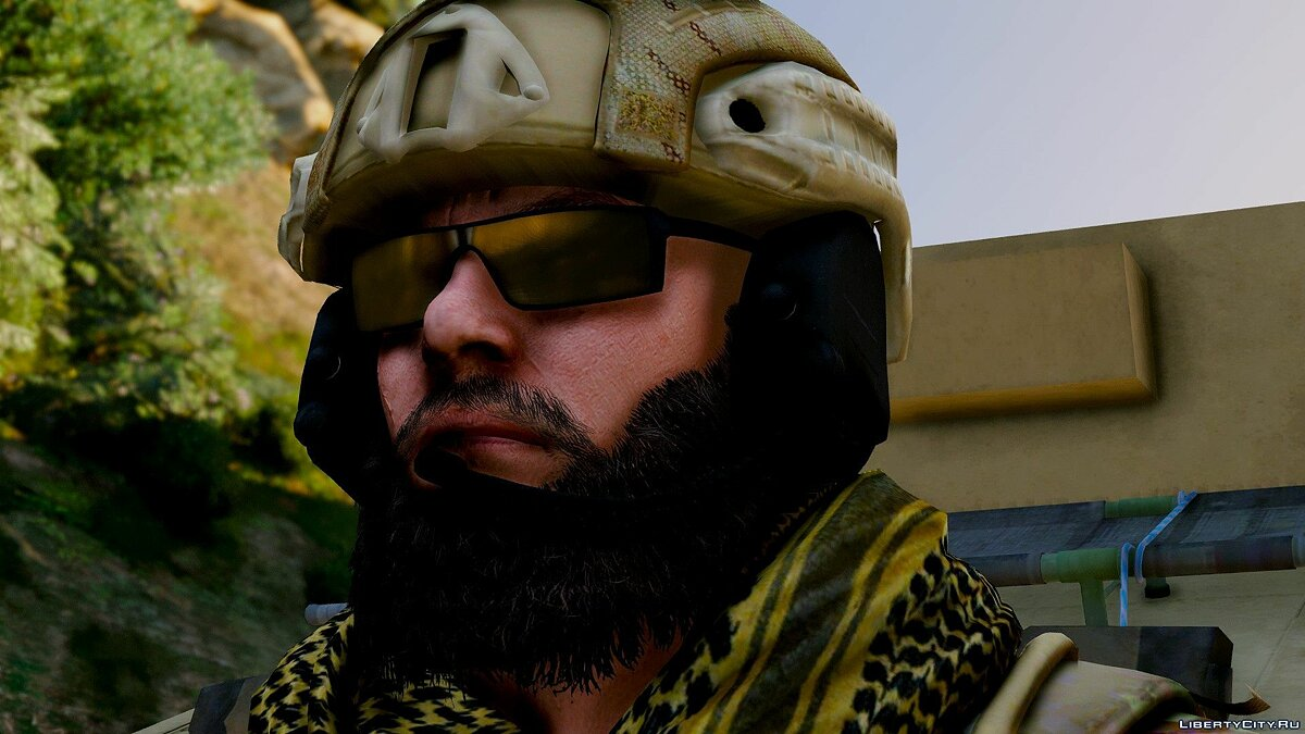 Navy Seals BlackBeard R6 [Add-On Only] 1.0 для GTA 5 - скриншот #3
