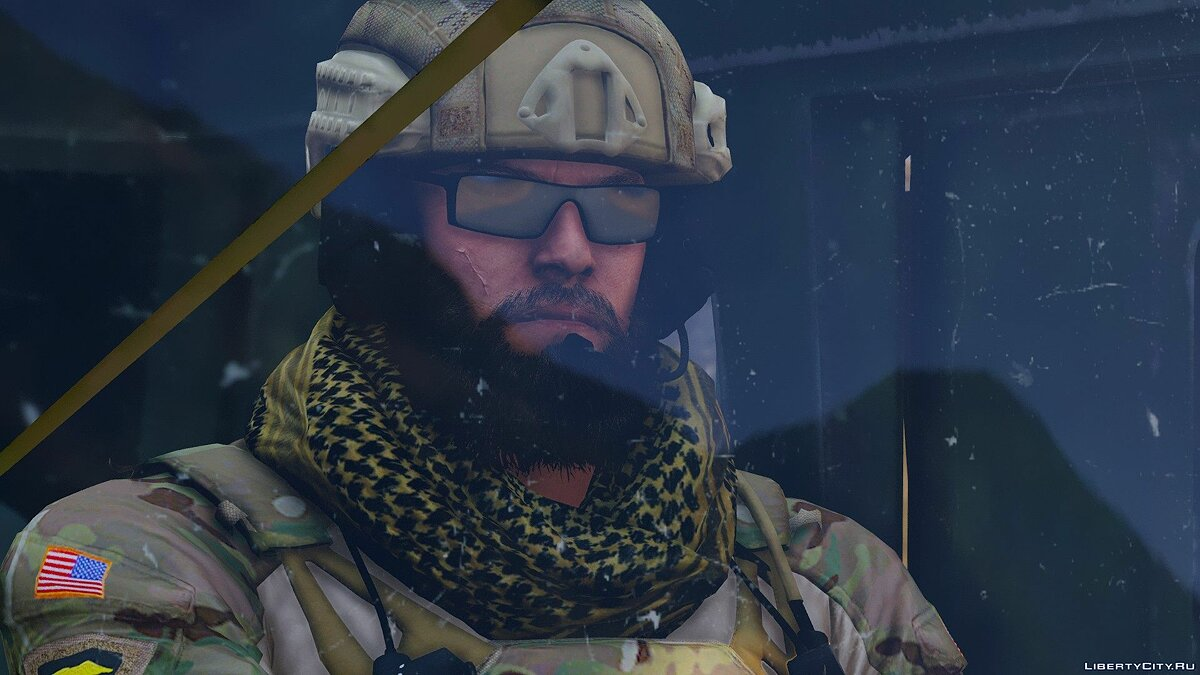 Navy Seals BlackBeard R6 [Add-On Only] 1.0 для GTA 5 - скриншот #7