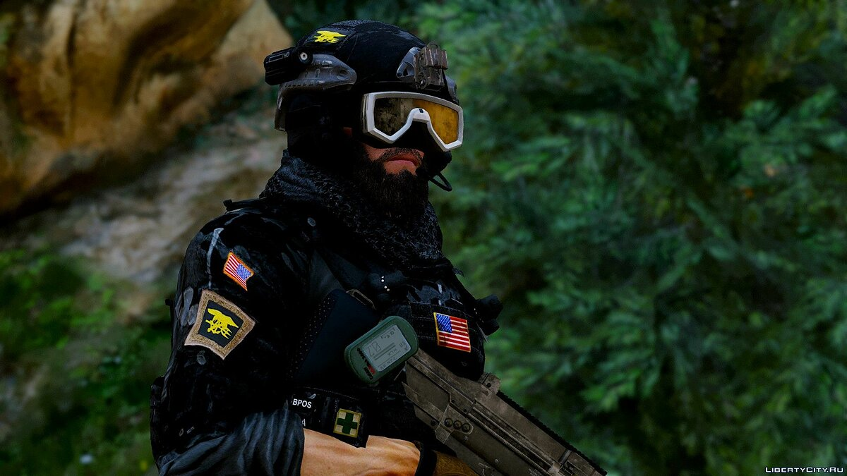Navy Seals BlackBeard R6 [Add-On Only] 1.0 для GTA 5 - скриншот #9