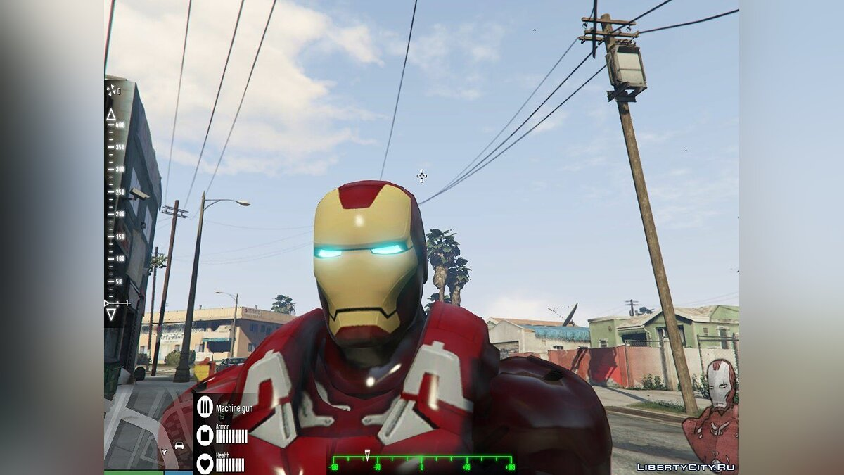 New Iron Man Mark 7 Armor (Emissive) для GTA 5
