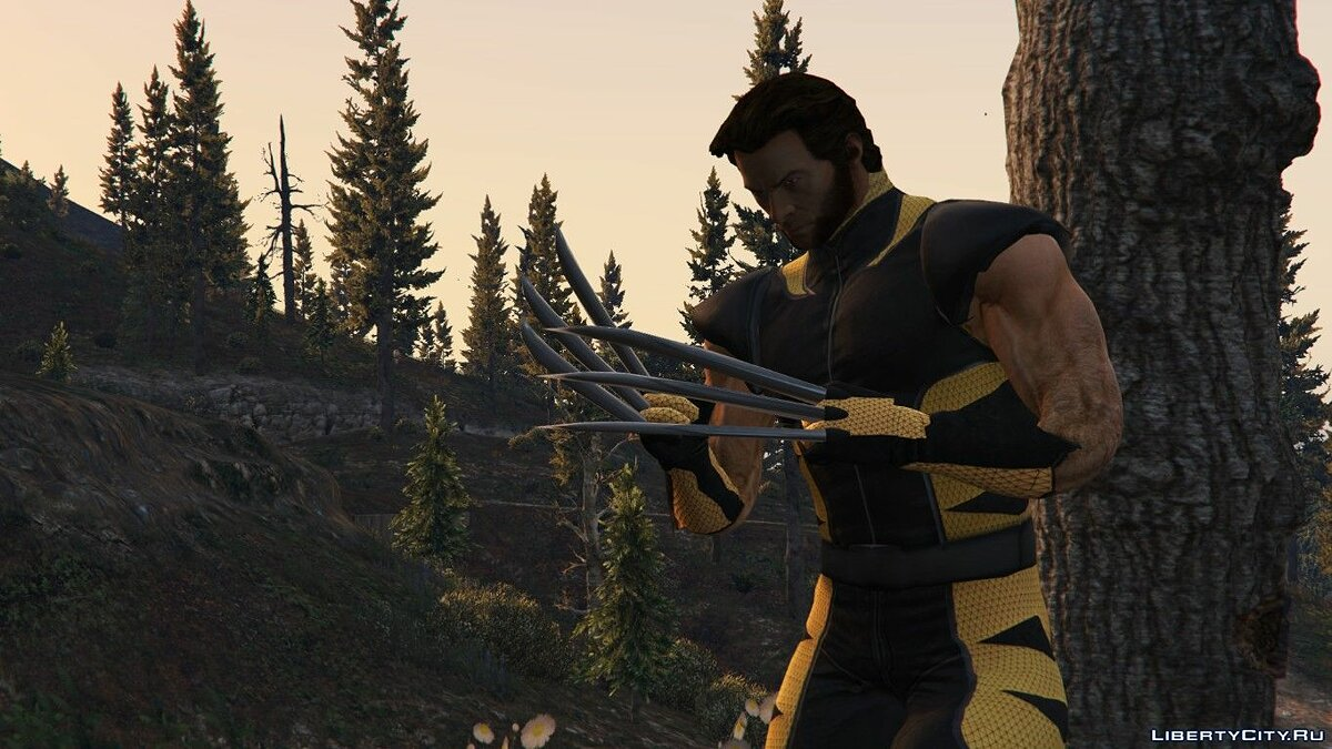 "The Wolverine (Hugh Jackman ""2013"") [Add-On / Replace Ped] для GTA 5"