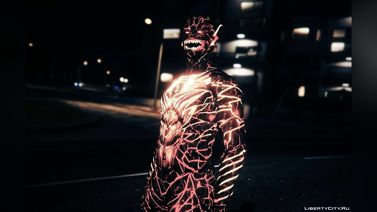 ��овый персонаж Reverse Flash New 52 [Add-On Ped] для GTA 5