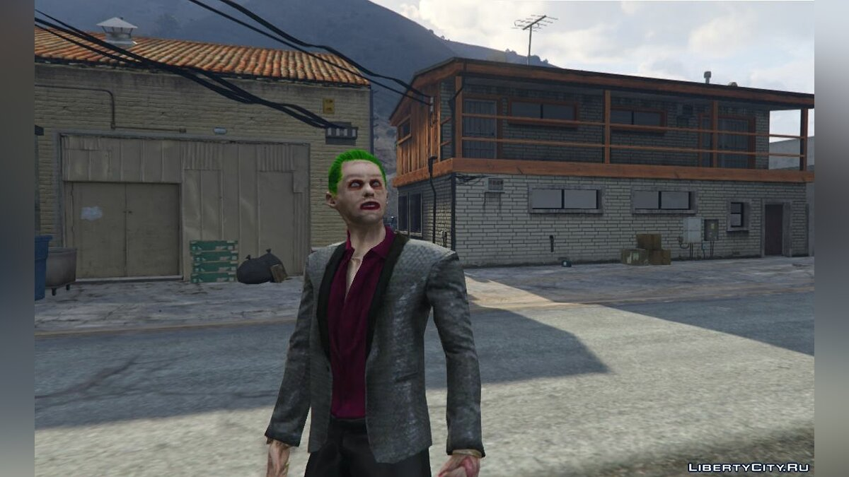 Suicide Squad Joker [Add-On Ped] 1.0 для GTA 5 - скриншот #3