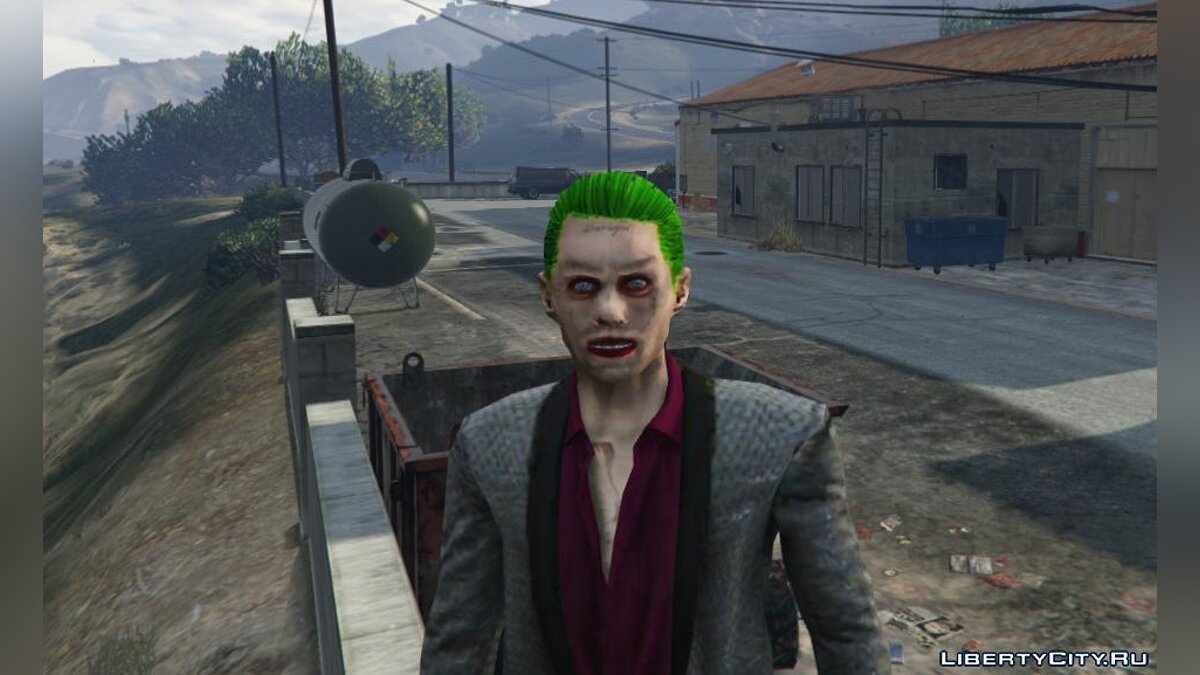 Suicide Squad Joker [Add-On Ped] 1.0 для GTA 5 - скриншот #4