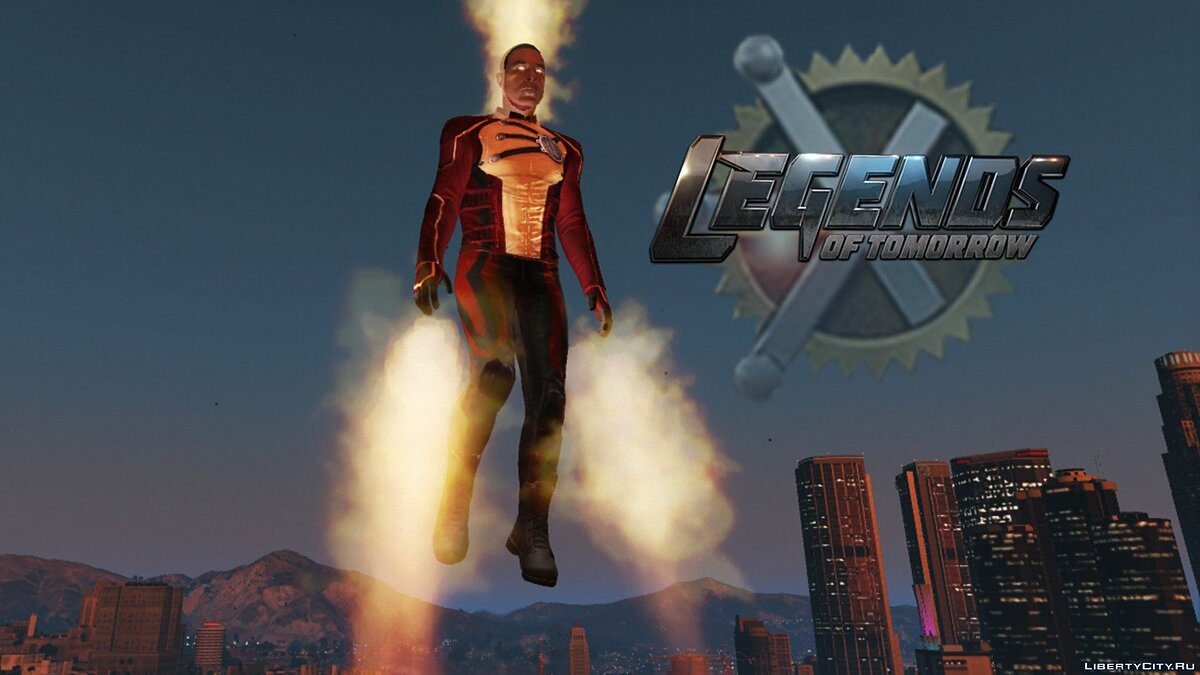 Firestorm (Legends of Tomorrow) [Add-On Ped] 1.1a для GTA 5 - скриншот #5