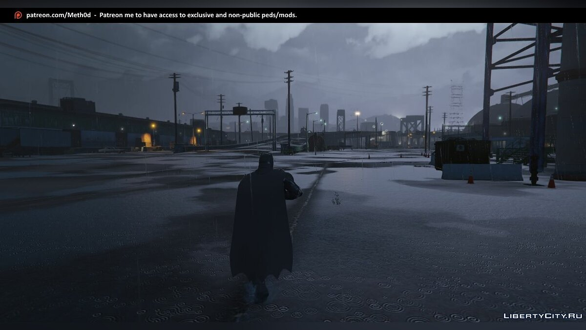 Armored Batman (BVS) [Add-On Ped] 1.0 для GTA 5 - скриншот #6