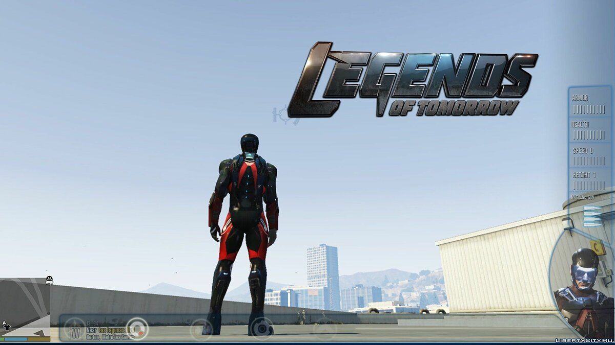The Atom (DC Legends of Tomorrow) [Add-On Ped] 1.4 для GTA 5 - скриншот #5