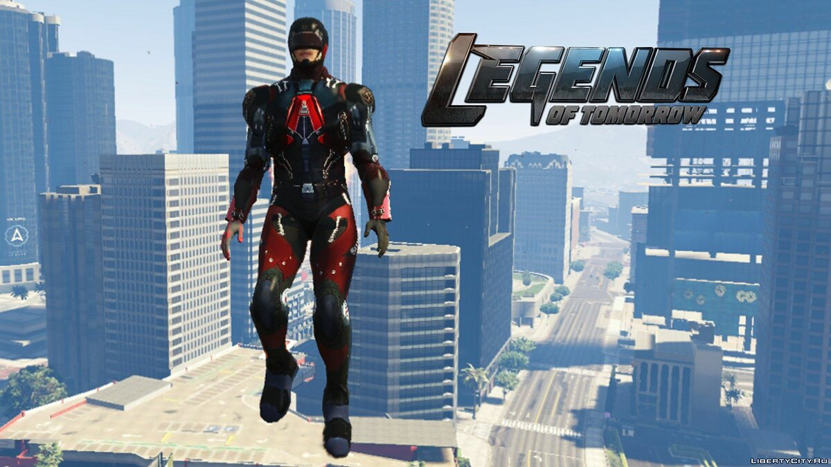 The Atom (DC Legends of Tomorrow) [Add-On Ped] 1.4 для GTA 5 - скриншот #3