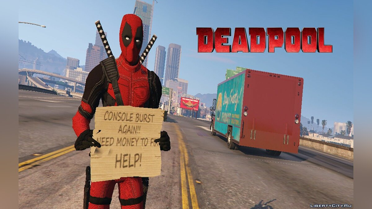 Deadpool (Movie) [4K] 1.0 для GTA 5 - скриншот #3