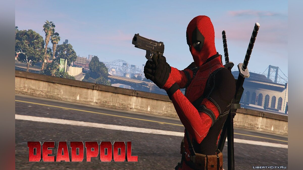 Deadpool (Movie) [4K] 1.0 для GTA 5 - скриншот #4