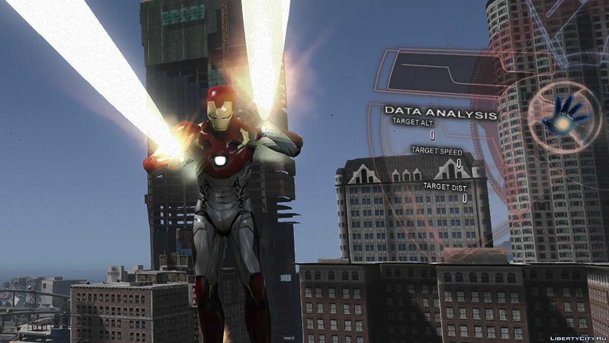 Iron Man Mark 47 (Spider-man Home Coming) [Add-On Ped] 1.3 для GTA 5 - скриншот #3